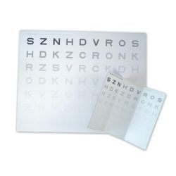GIMA CONTRAST SENSITIVITY CARD - NEAR VISION 40CM
