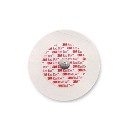 3M ELECTRODOS CON SOPORTE MICROPORE RED DOT 2239 (1.000 UDS)