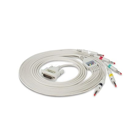 GIMA  5-LEAD VET ECG CABLE SPARE FOR  ECG VETERINARIA VE-100 AND VE-300