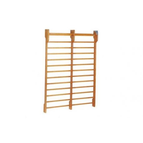 FISIOTECH DOUBLE SECTION WOODEN WALL BAR