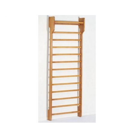FISIOTECH SINGLE SECTION WOODEN WALL BAR