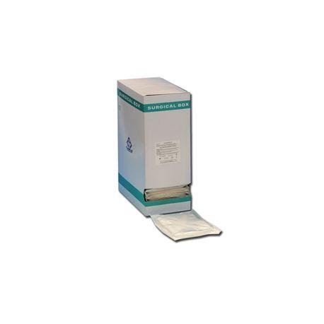 GIMA COTTON GAUZE SWAB 5X5 CM - STERILE (250 PCS)