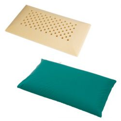 MORETTI HOSPITAL PILLOW IN EXPANDED POLYURETHANE HR21 PERFORATED ANTI-SUFFOCATION - POLITEX COATING