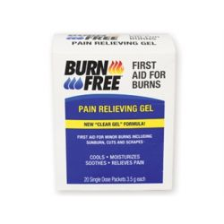 GIMA BURNFREE®  PAIN RELIEVING GEL - 3,5G SACHETS (1000 PCS)
