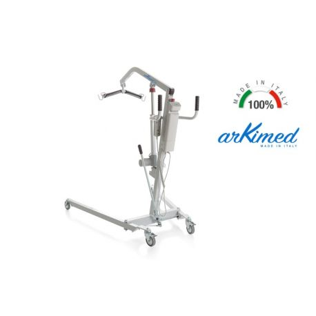 MORETTI ALZA PACIENTES ELÉCTRICO - ACTUADOR TIMOTION - SERIE ARKIMED - CAPACIDAD 150KG