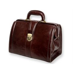 "GIMA ""VALIGETTA PRIME LEATHER"" MEDICAL BAG"