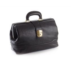 MORETTI FULL FLOWER CALF LEATHER MEDICAL CASE - LONDON MODEL