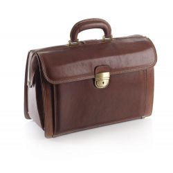 MORETTI FULL FLOWER CALFSKIN MEDICAL CASE - EXECUTIVE MODEL
