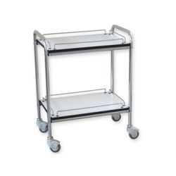 GIMA GIMA 2 TROLLEY WITH GUARD-RAIL - SMALL
