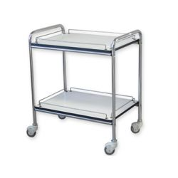 GIMA GIMA 2 TROLLEY WITH GUARD-RAIL - MEDIUM