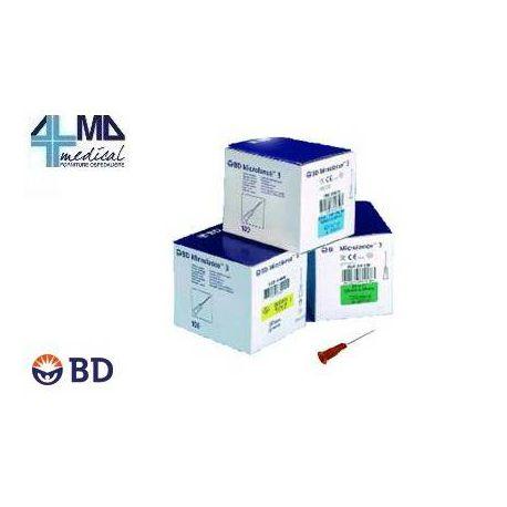 BD AGUJA MICROLANCE 3 26G (100 UDS)