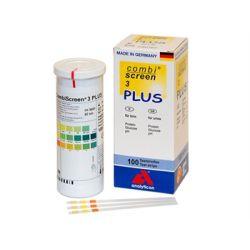 COMBI SCREEN PLUS URINE STRIPS - 3 PARAMETERS (BOX OF 100 PCS)