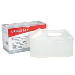 GIMA CONTENEDOR DE ORINA 24 HORAS - 2.5 L (27 UDS)