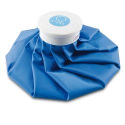 MORETTI KYARA ICE BAG IN PVC - BLUE - 28 CM