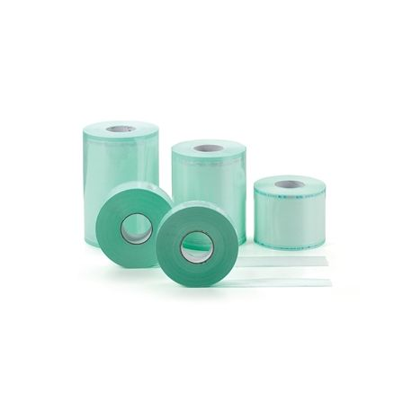 GIMA FLAT ROLLS FOR STERILIZATION IN AUTOCLAVE OR ETO - VARIOUS MEASURES (1 ROLL)