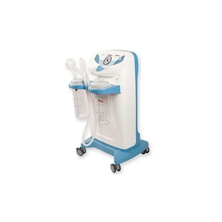 GIMA CLINIC PLUS SUCTION 2X4L JAR 230V WITH FOOTSWITCH - FLOW REGULATOR