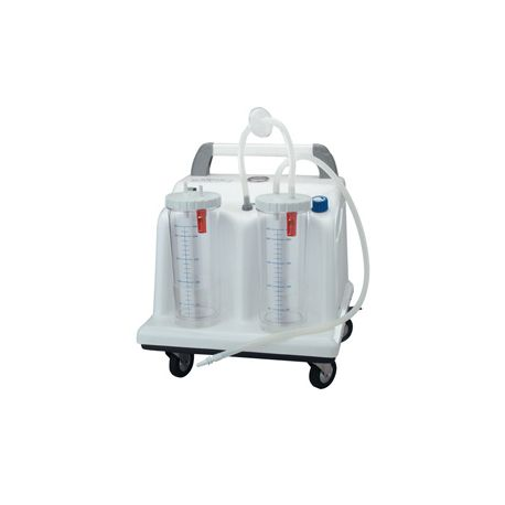 """GIMA  """"TOBI CLINIC"""" SUCTION WITH 2X2L JAR + FOOTSWITCH"""