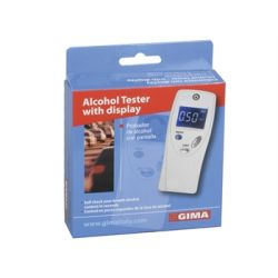GIMA ALCOHOL TESTER - WITH DISPLAY