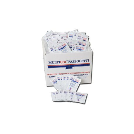 GERMO DISINFECTANT WIPES - BAGS (400 PCS)