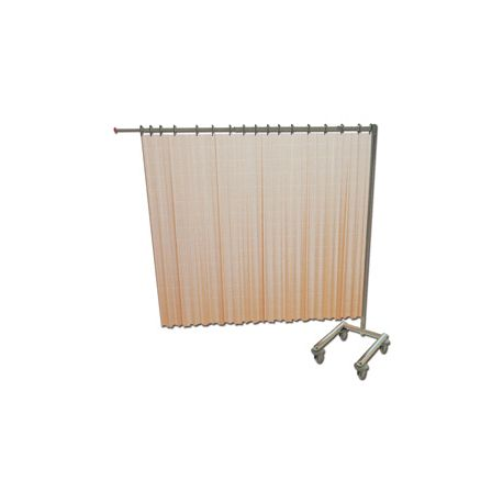 GIMA TROLLEY FOR 1 CURTAIN - FOLDABLE - WITHOUT CURTAIN