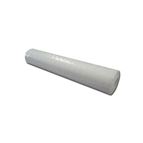 GIMA EMBOSSED POLYTHENE ROLL - 50M X 50CM - WHITE (6 ROLLS)